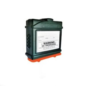 EZ Permit Box Green and Orange