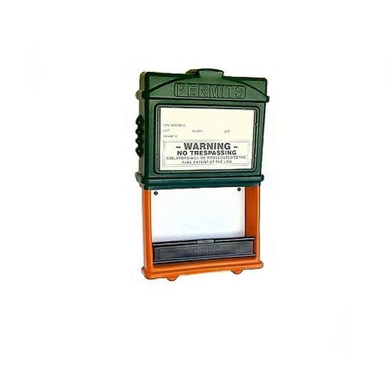 EZ Permit Box Green and Orange