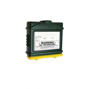 EZ Permit Box Green and Yellow