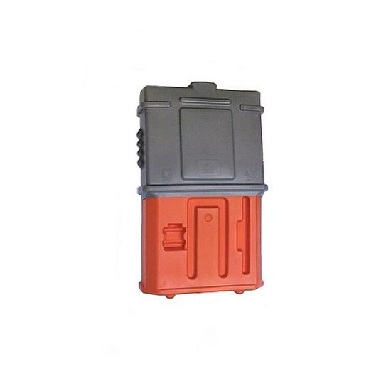EZ Permit Box w/Lock Gray and Orange