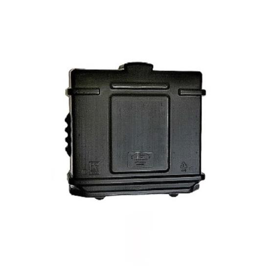 EZ Permit Box w/Lock Black and Black