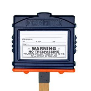 Permit Box w/ 4x4 Adapter